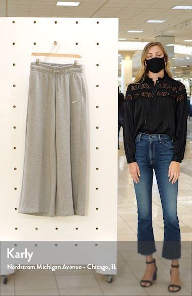 Sportswear Knit Palazzo Pants, sales video thumbnail