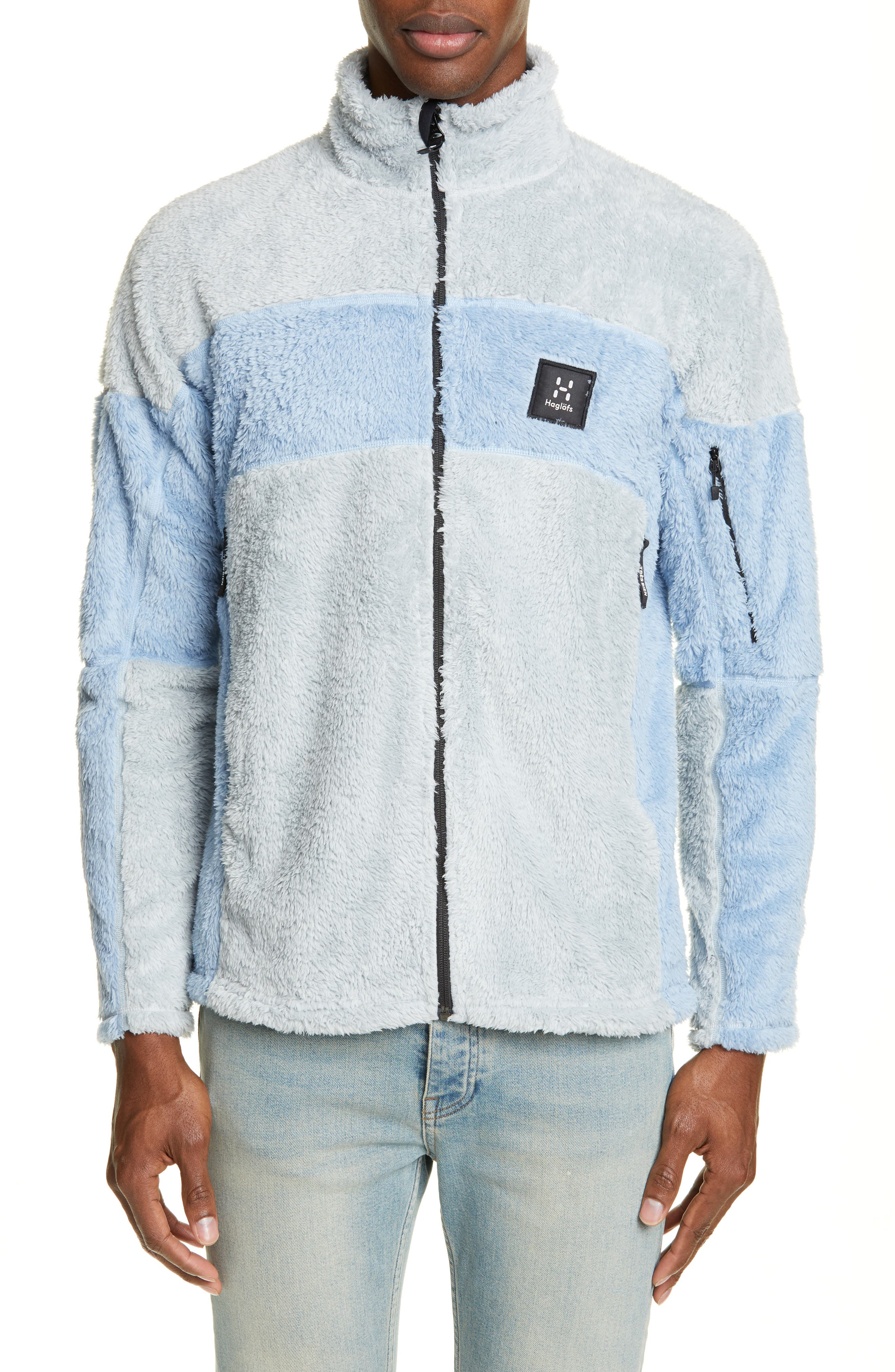 Tres Bien Haglofs Epic Teddy Fleece Jacket, Blue