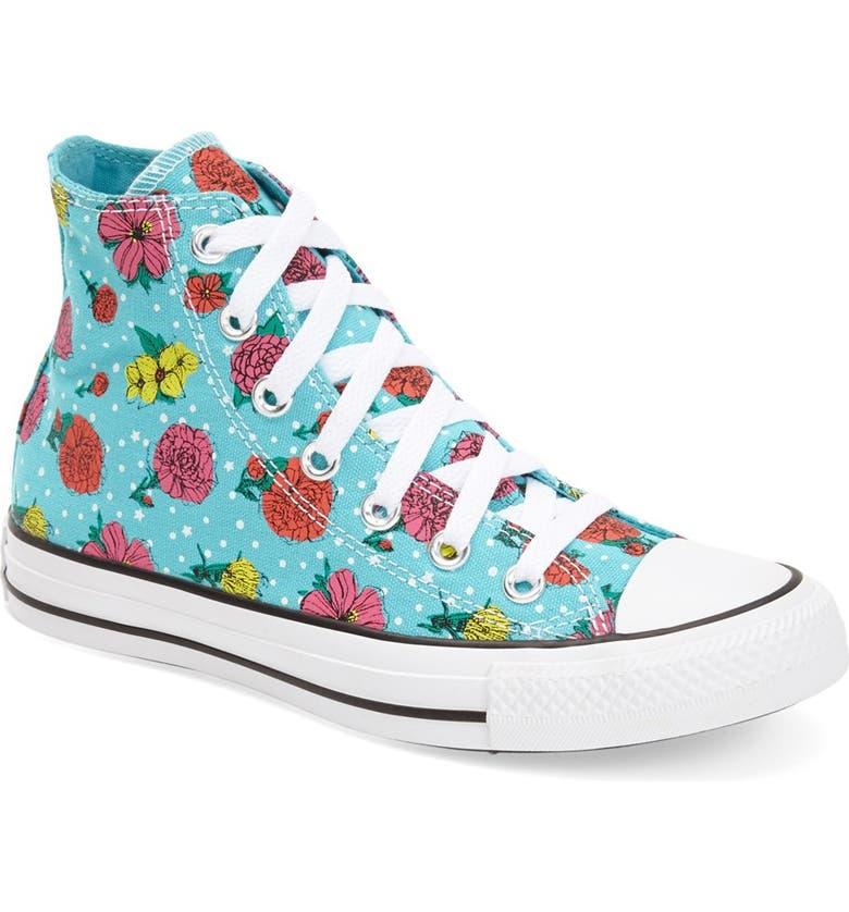 Converse Chuck Taylor® All Star® Floral Polka Dot High Top
