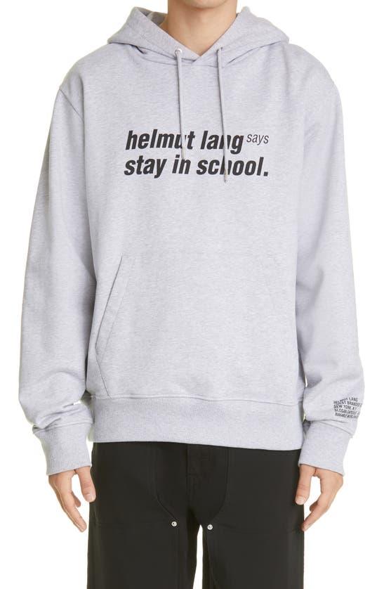 Helmut Lang Hoodies SCHOOL HOODIE