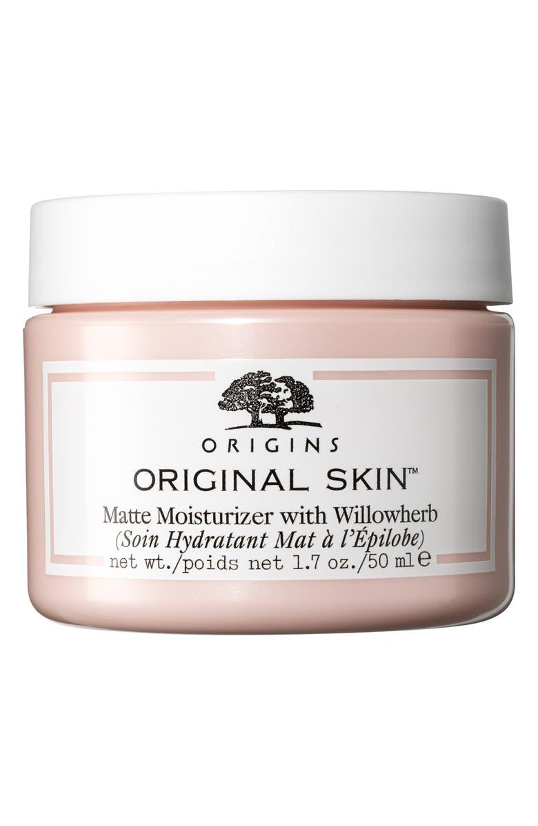 ORIGINS Original Skin<sup>™</sup> Matte Moisturizer with Willowherb, Main, color, NO COLOR