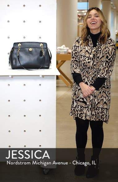 Parker Leather Shoulder Bag, sales video thumbnail