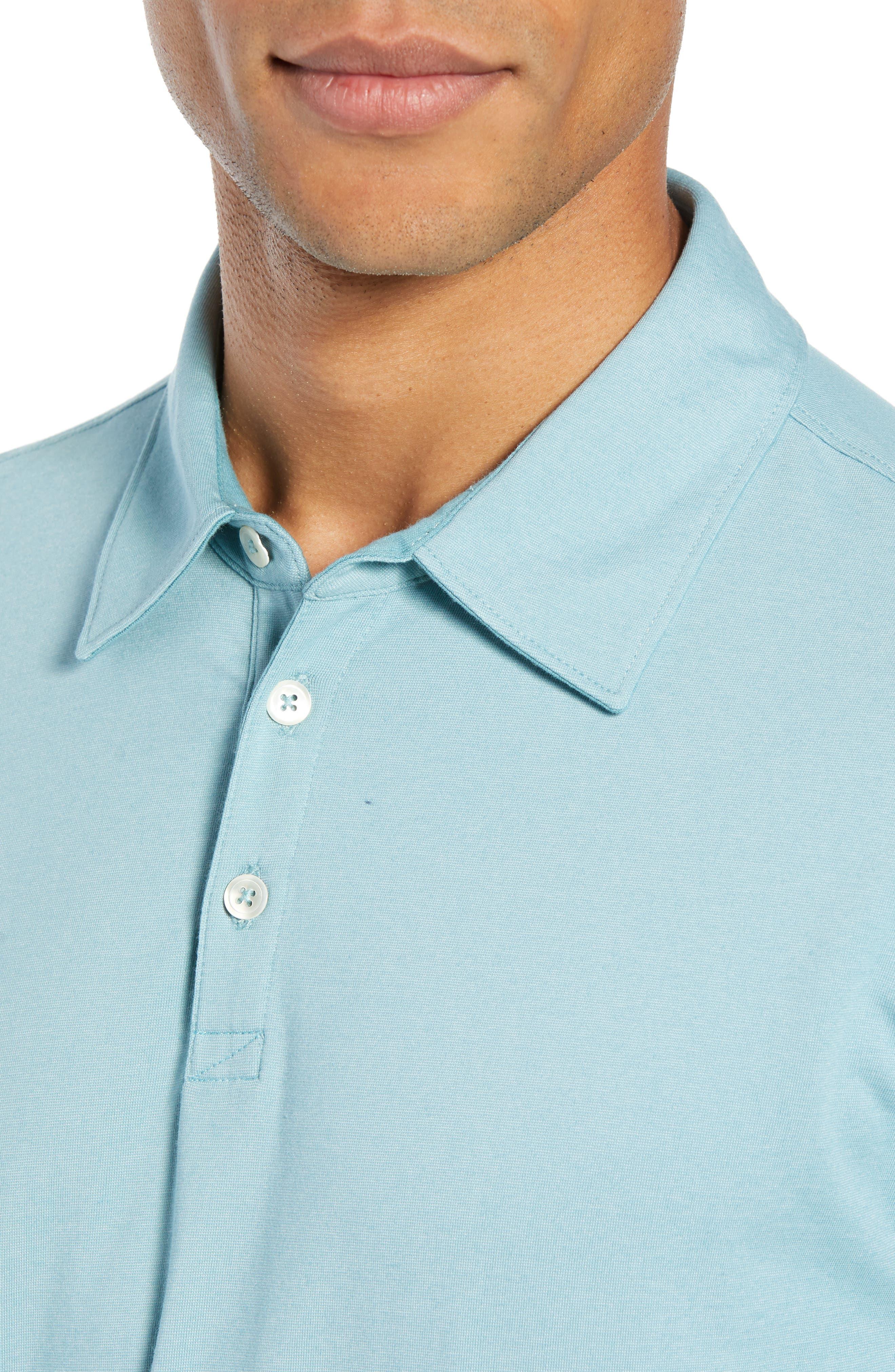 ,                             Benton Long Sleeve Polo,                             Alternate thumbnail 10, color,                             439