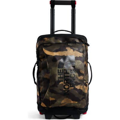 The North Face Rolling Thunder 21-Inch Wheeled Carry-On - Green