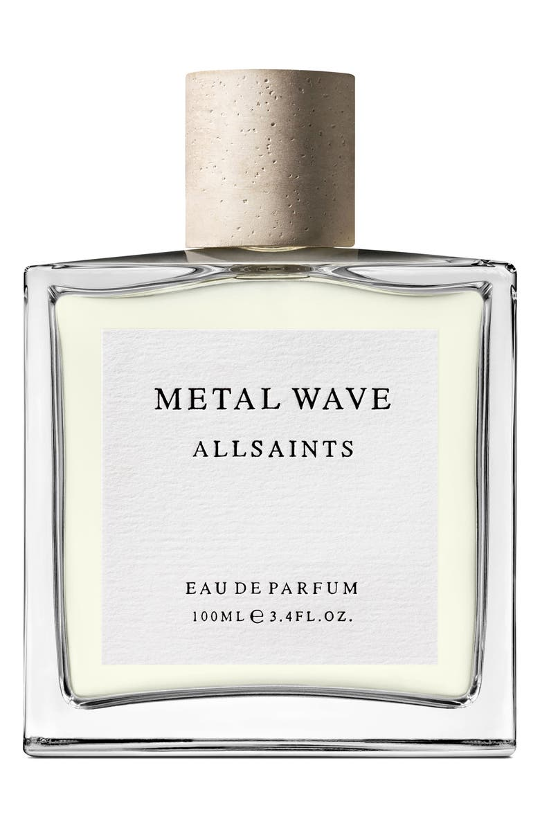 ALLSAINTS Metal Wave Eau de Parfum, Main, color, NO COLOR