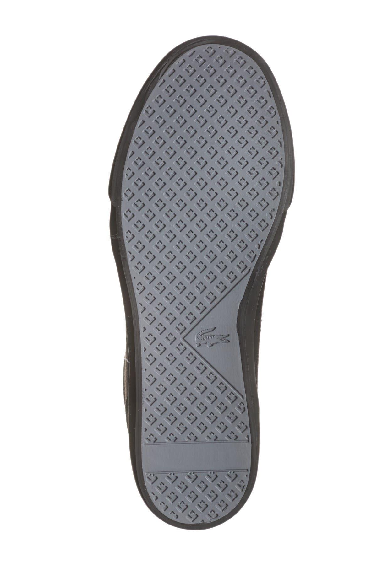 lacoste minzah 119 leather sneaker