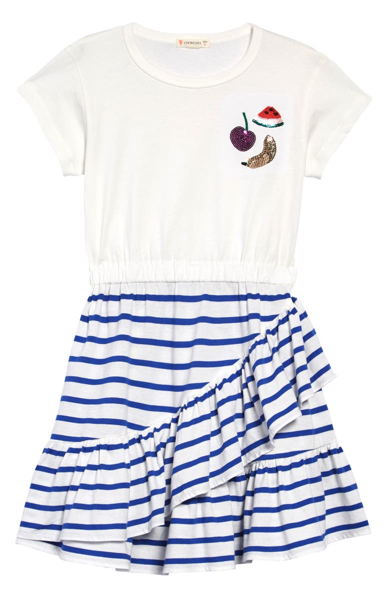 CREWCUTS BY J.CREW Mix-Up Dress, Main, color, 400