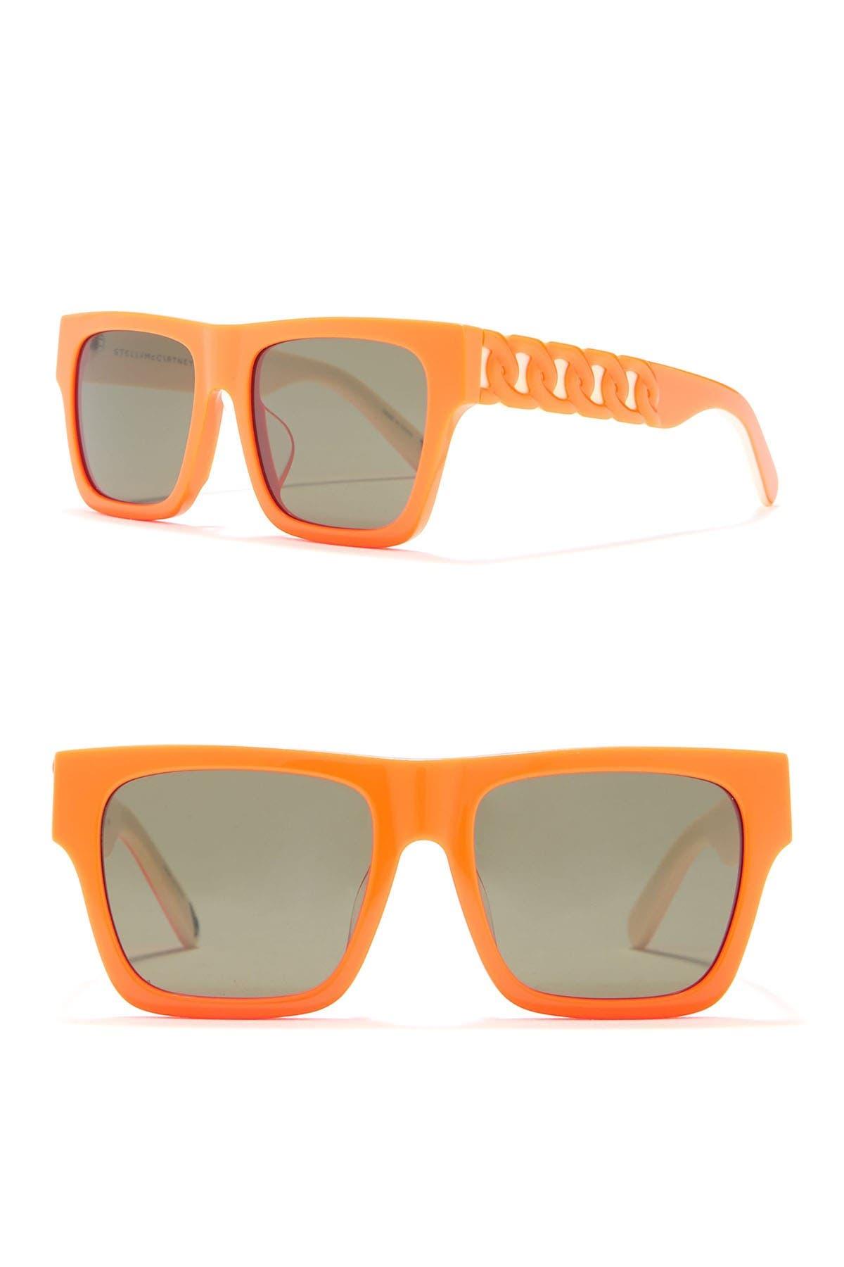 Image of Stella McCartney 47mm Irregular Sunglasses