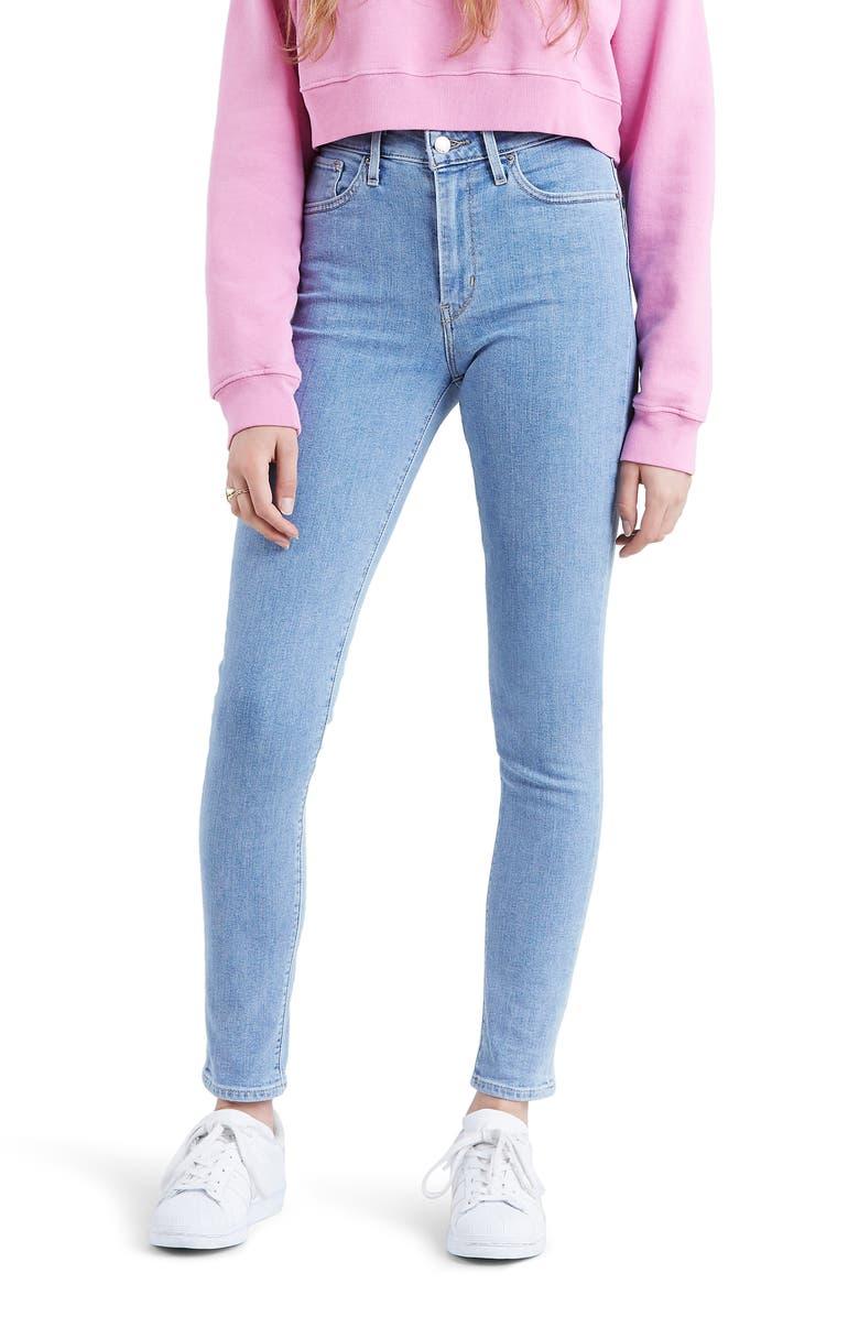 LEVI'S<SUP>®</SUP> 721<sup>™</sup> High Waist Skinny Jeans, Main, color, SAN FRANCISCO SUNSET