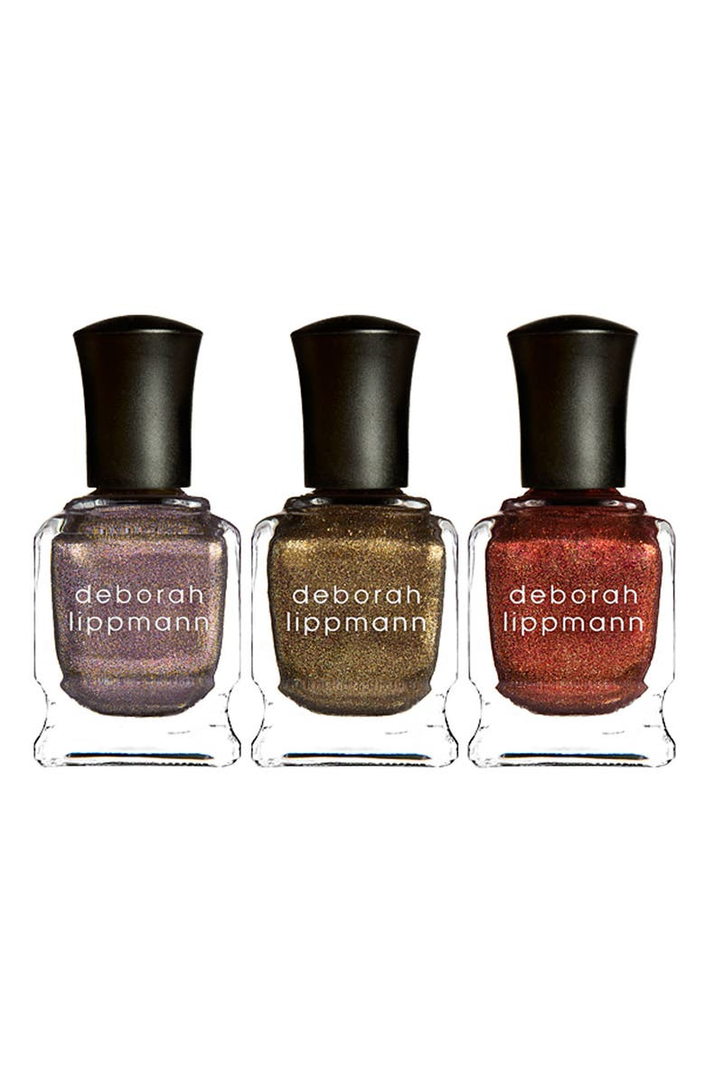 DEBORAH LIPPMANN 'Rock This Town' Nail Lacquer Trio, Main, color, 000