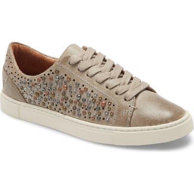 Frye Ivy Deco Stud Sneaker, Beige