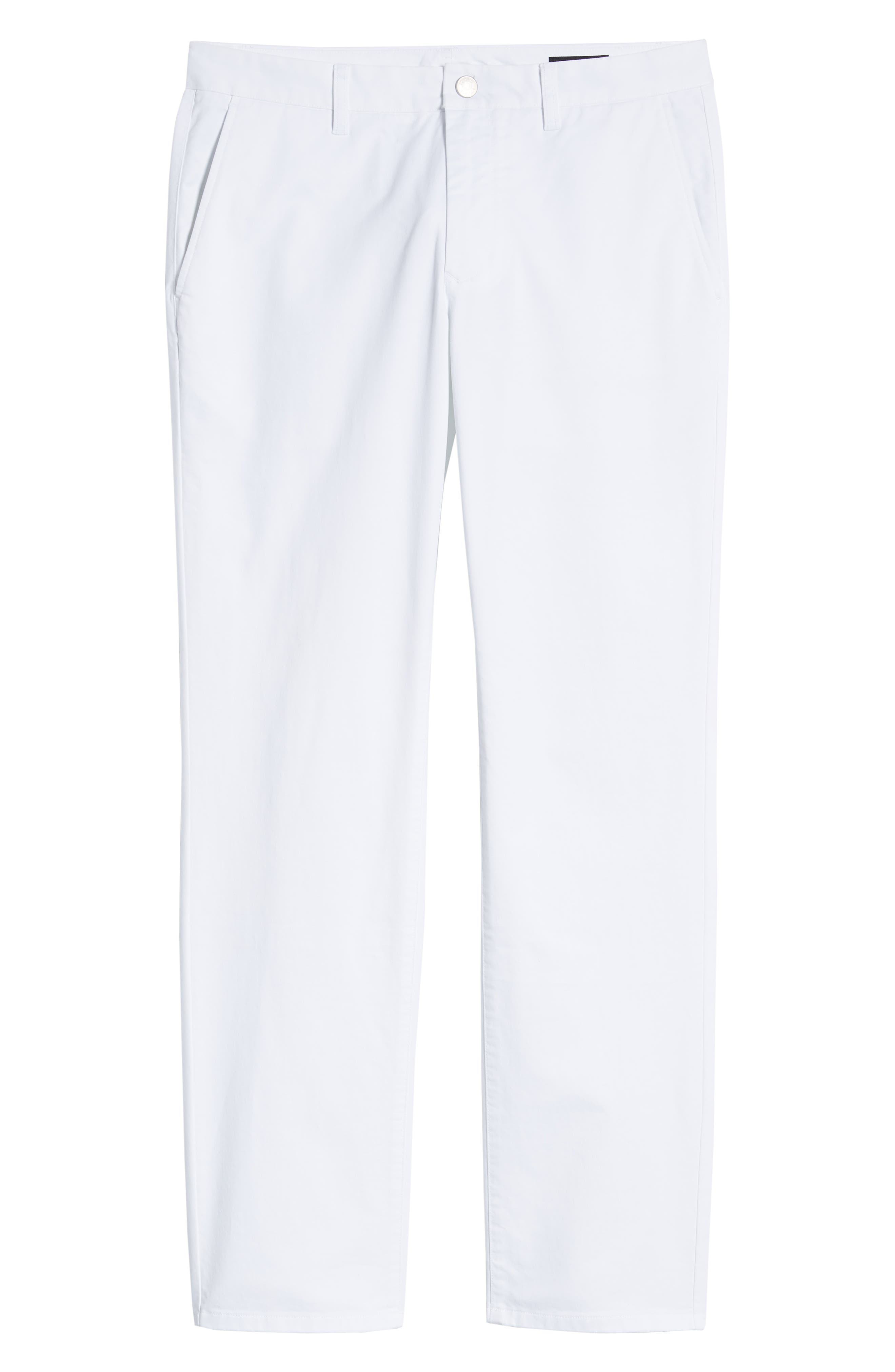 ,                             Slim Fit Stretch Washed Chinos,                             Alternate thumbnail 7, color,                             BRIGHT WHITE