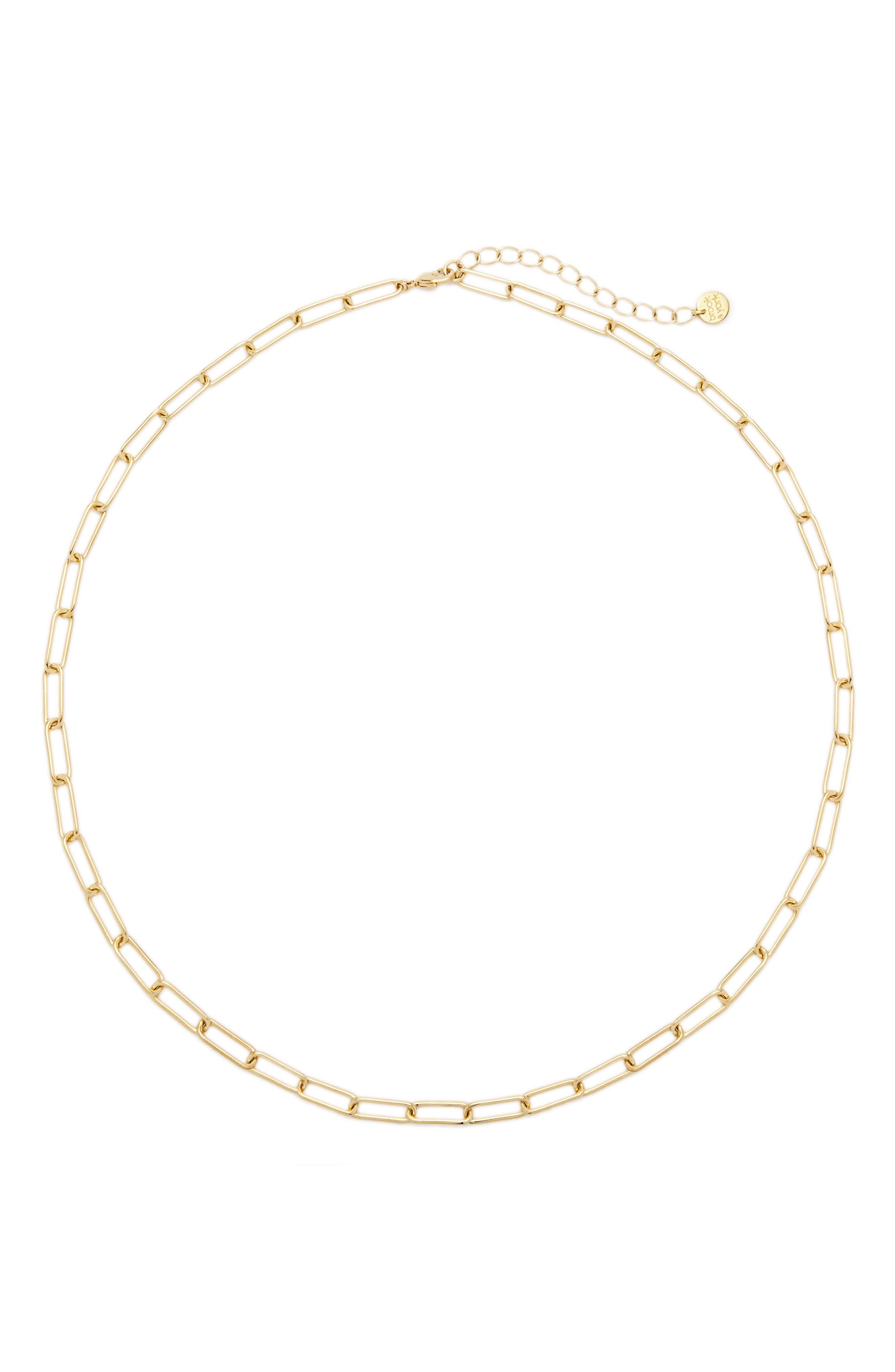 Colette Chain Link Necklace