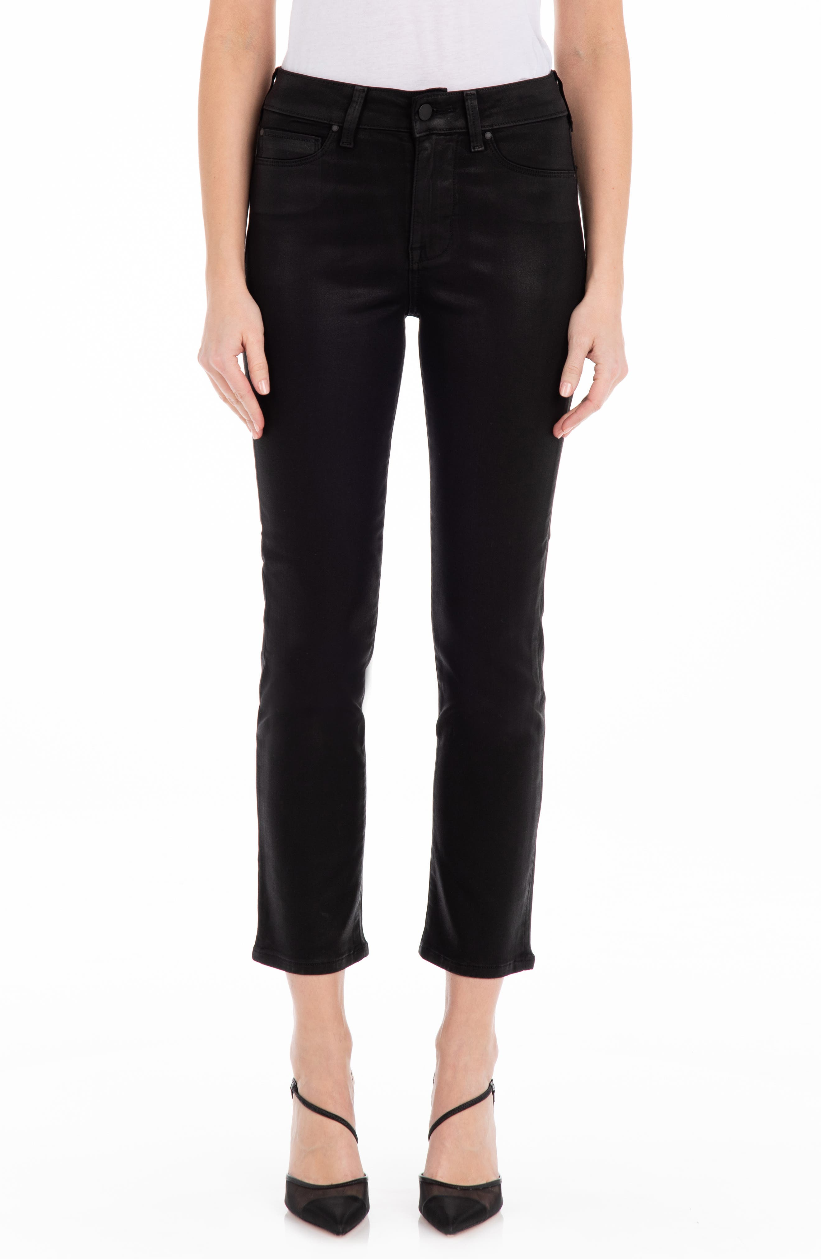 Cher High Waist Ankle Skinny Jeans