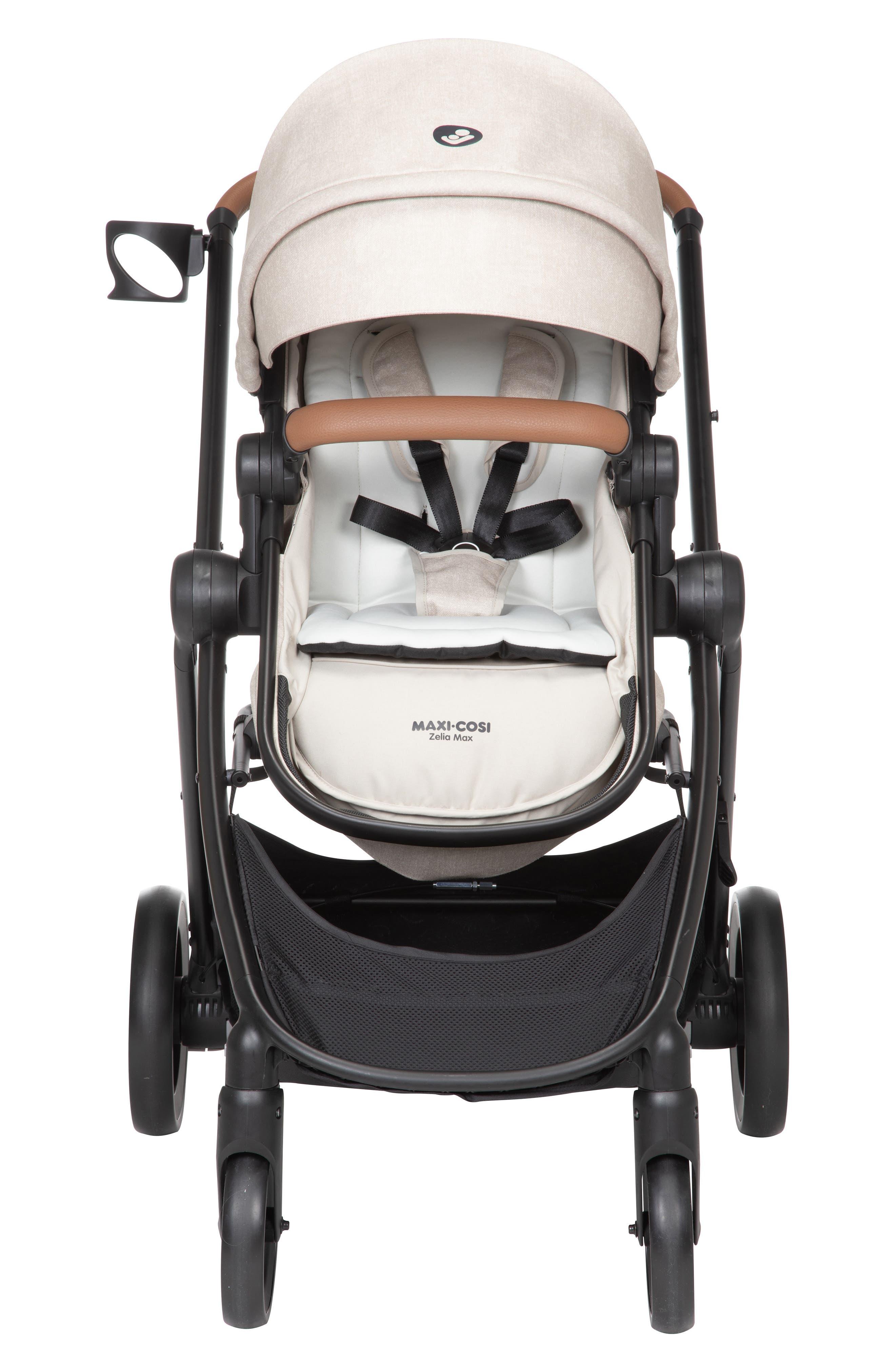 Infant MaxiCosi 51 Mico 30 Infant Car Seat  Zelia Stroller Modular Travel System Size One Size  Beige