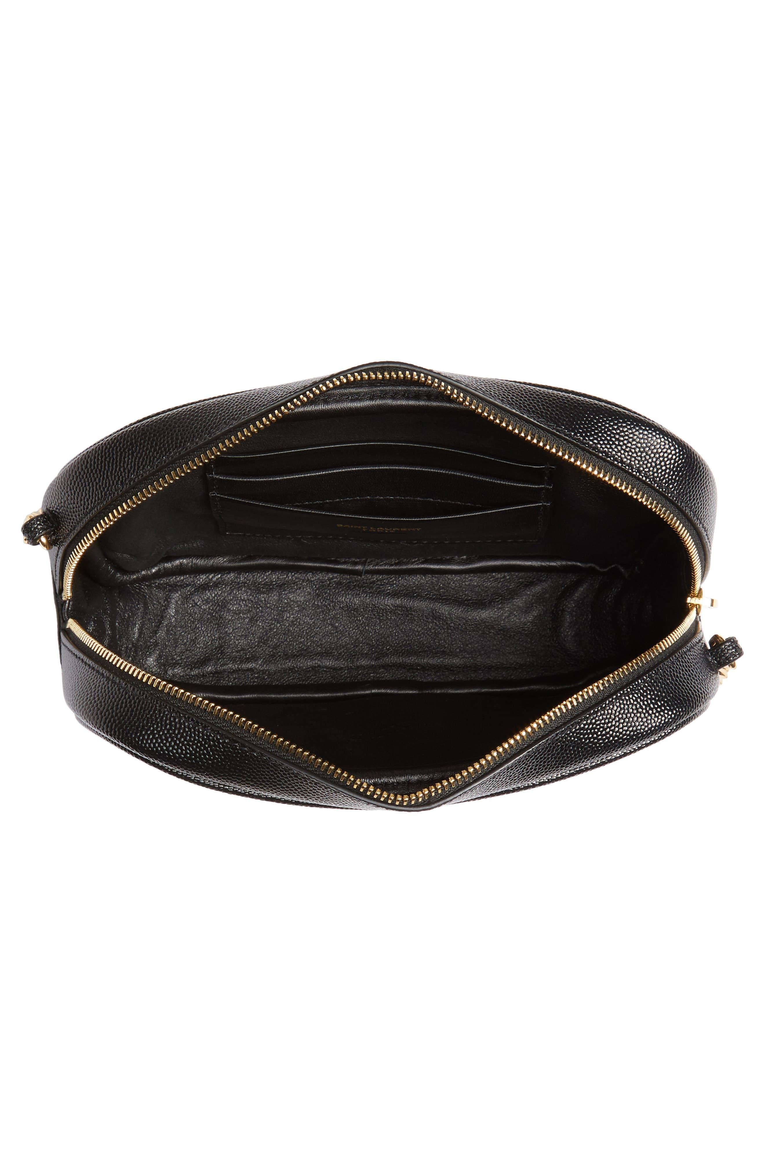 Saint Laurent Mini Lou Matelassé Leather Camera Bag