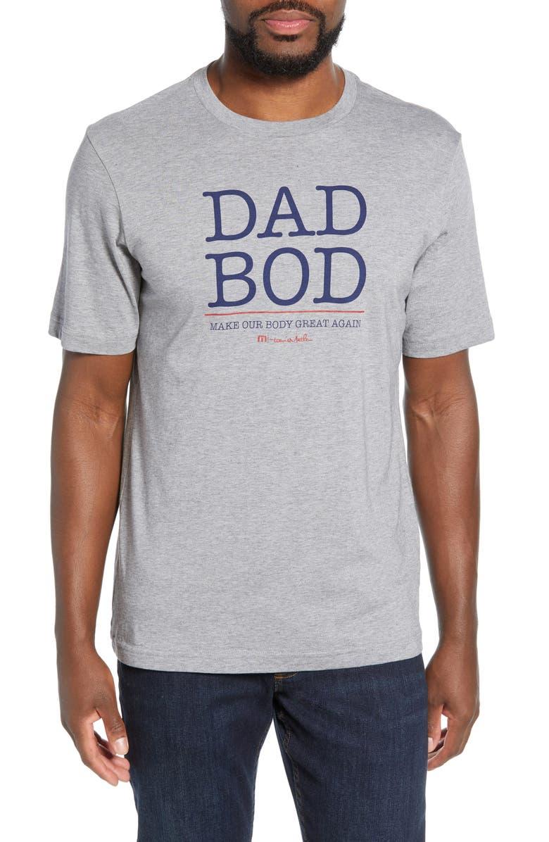 TRAVISMATHEW Dad Bod Regular Fit T-Shirt, Main, color, 020