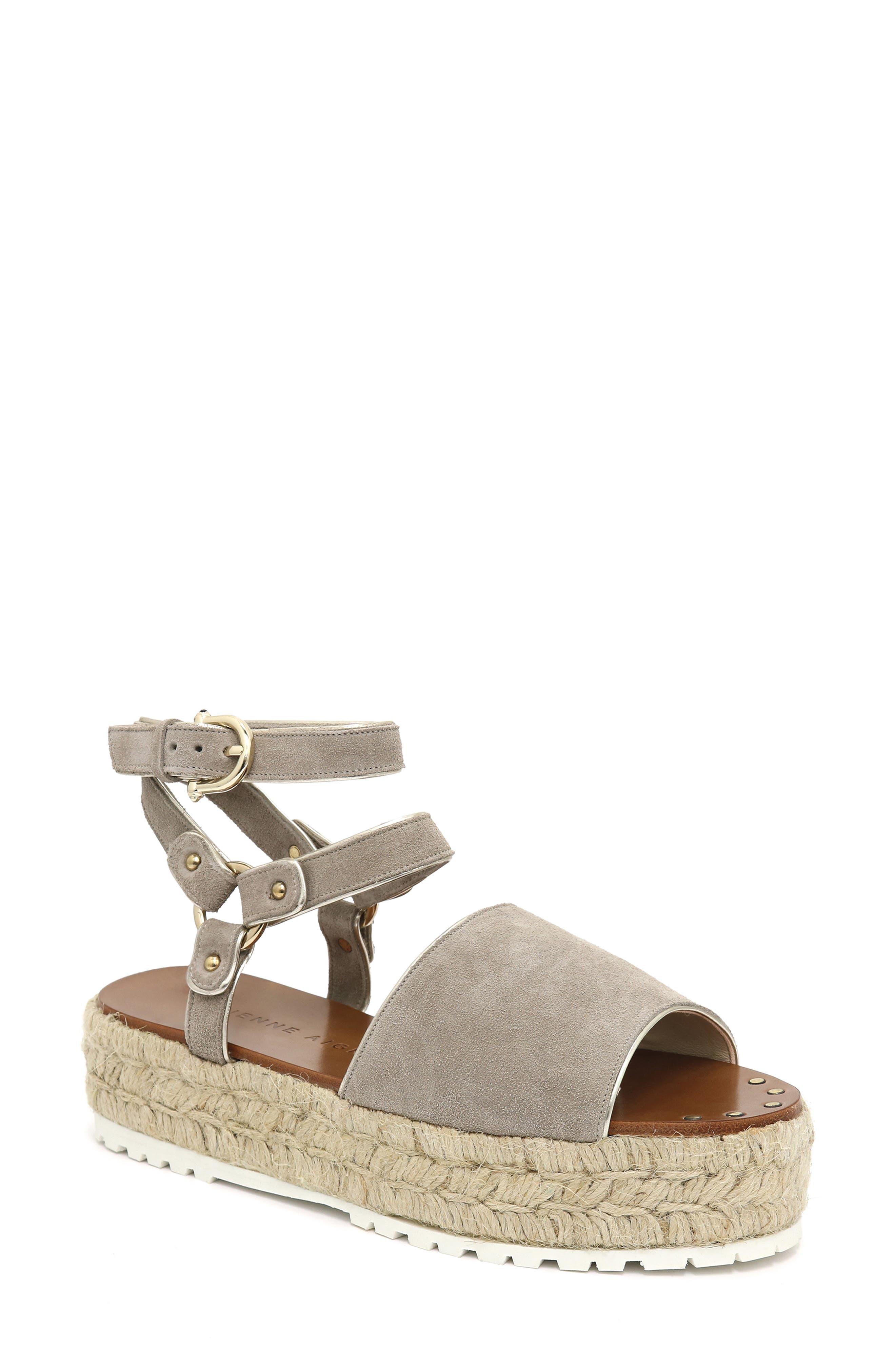 Winona Ankle Strap Platform Sandal
