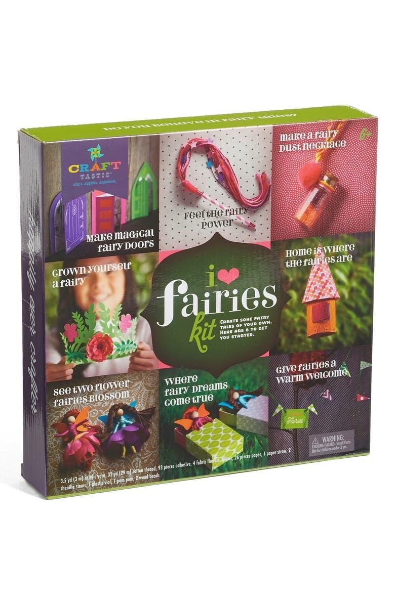 CRAFT-TASTIC I Love Fairies Craft Kit, Main, color, 650