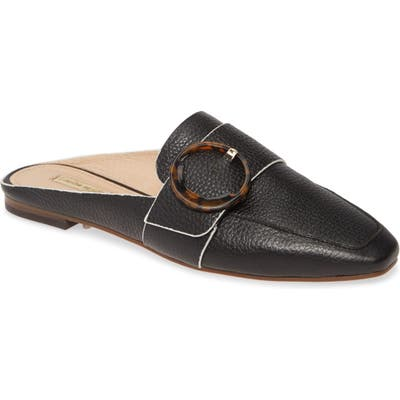 Louise Et Cie Brileigh Buckle Mule- Black