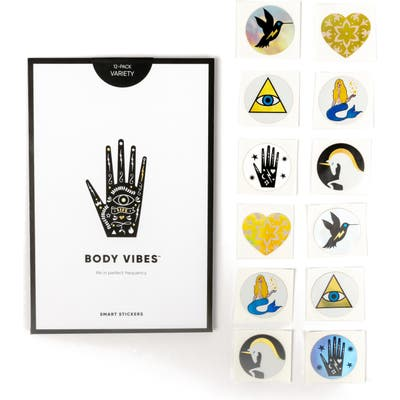 Body Vibes Sacred 6 Set Of 12 Stickers