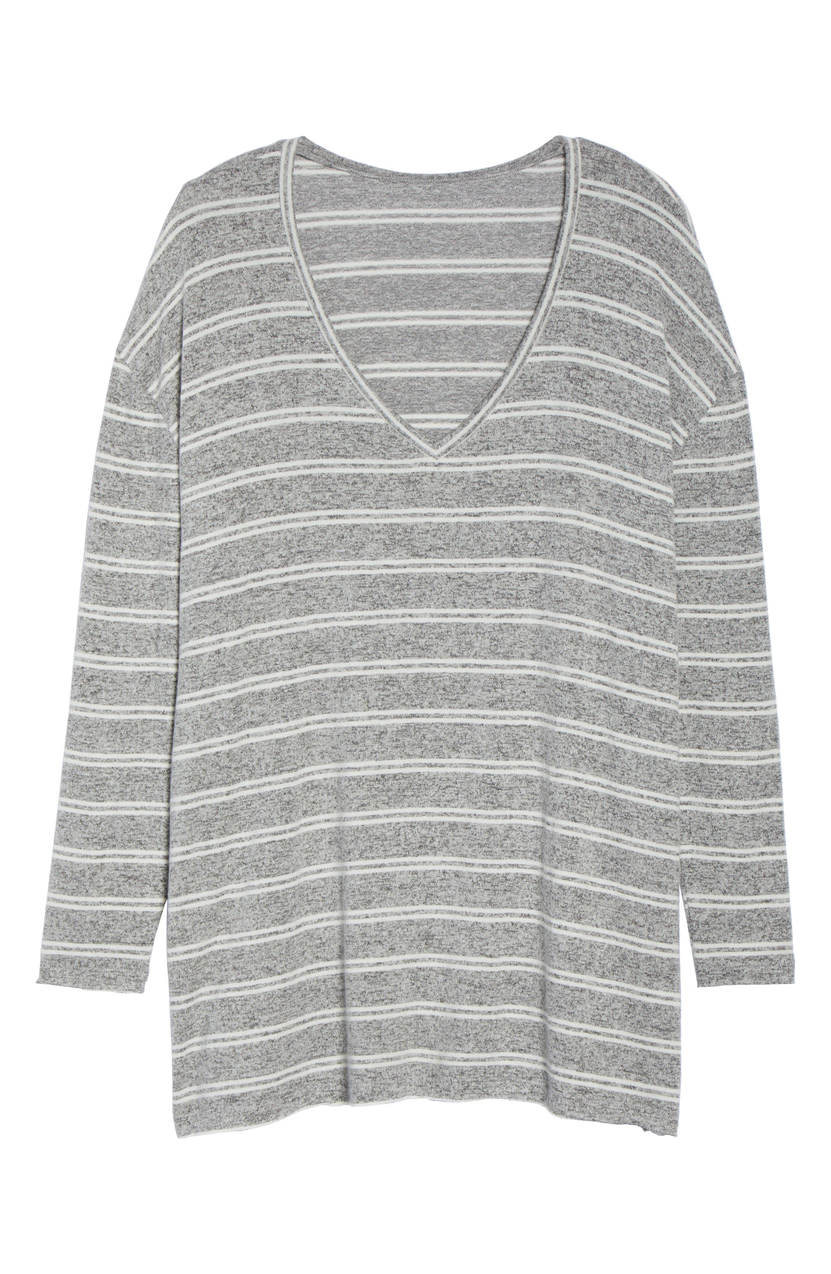 ,                             Cozy V-Neck Sweater,                             Alternate thumbnail 11, color,                             050