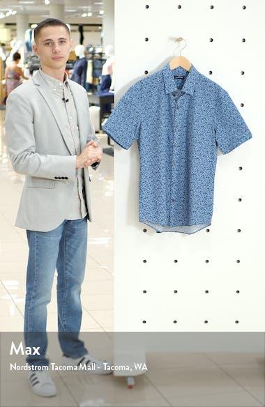 Padilla Regular Fit Floral Short Sleeve Button-Up Shirt, sales video thumbnail