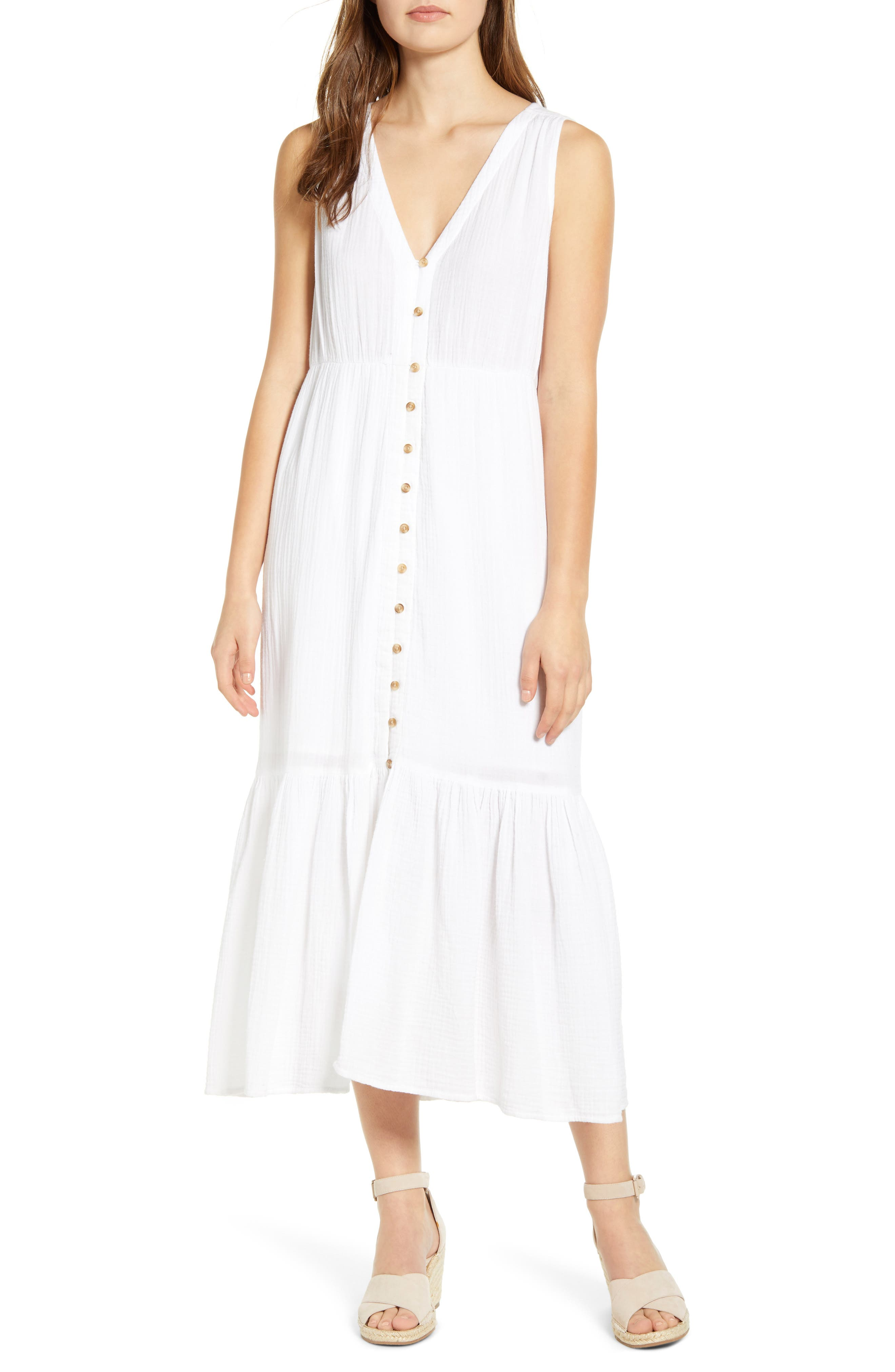 Lexa Crinkle Maxi Dress