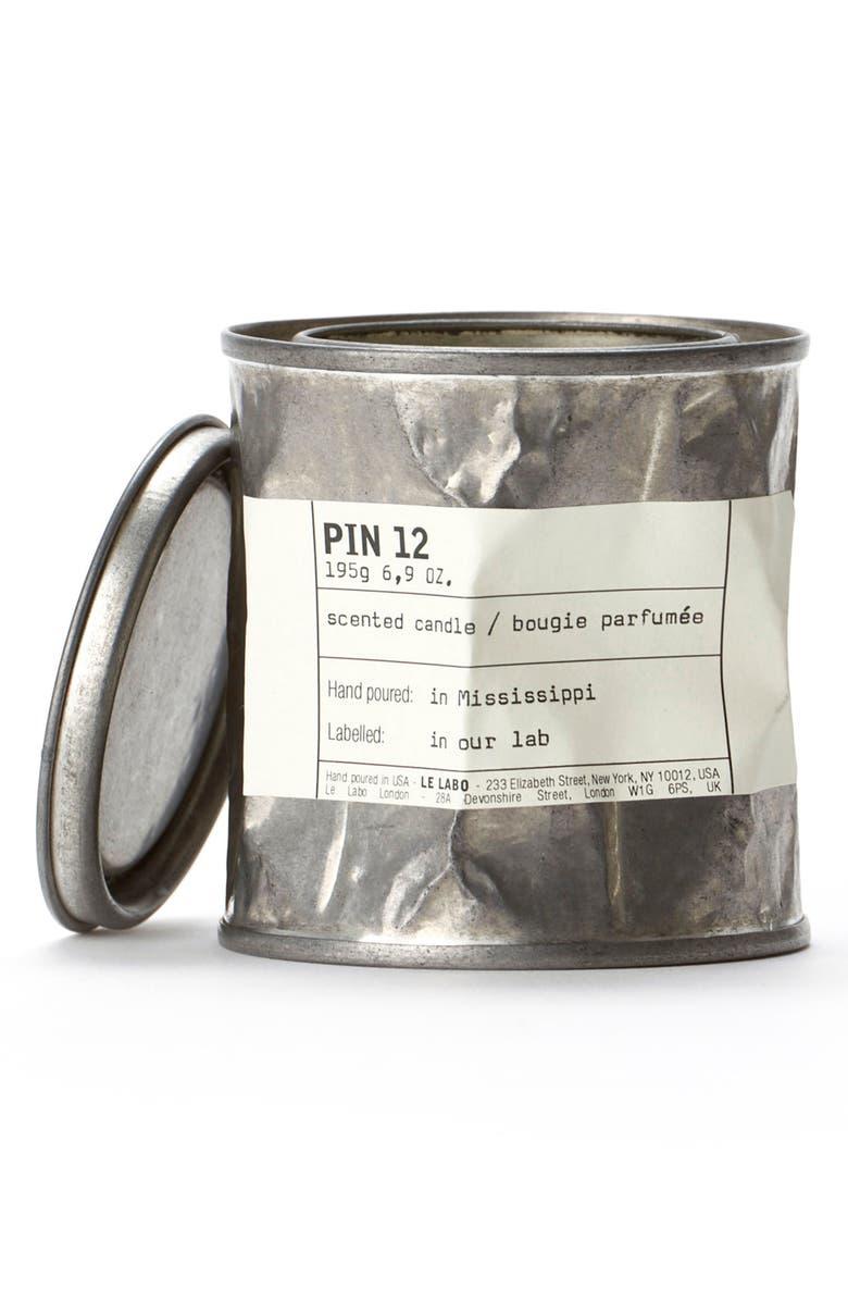 LE LABO 'Pin 12' Vintage Candle Tin, Main, color, NO COLOR