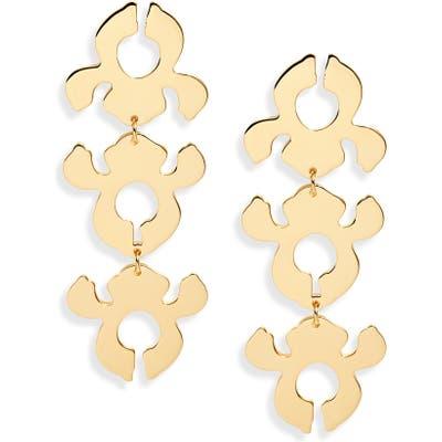 Lele Sadoughi Iris Bouquet Shadow Drop Earrings