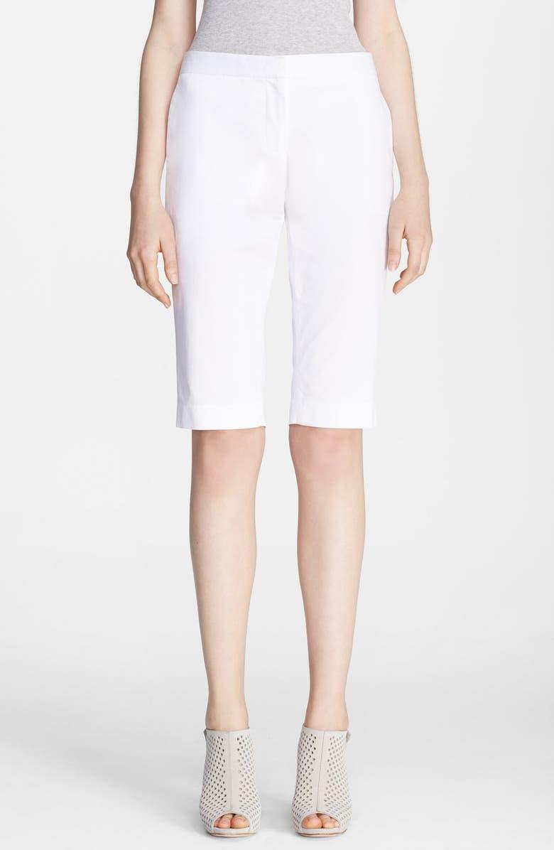THEORY 'Jitney' Twill Bermuda Shorts, Main, color, 157