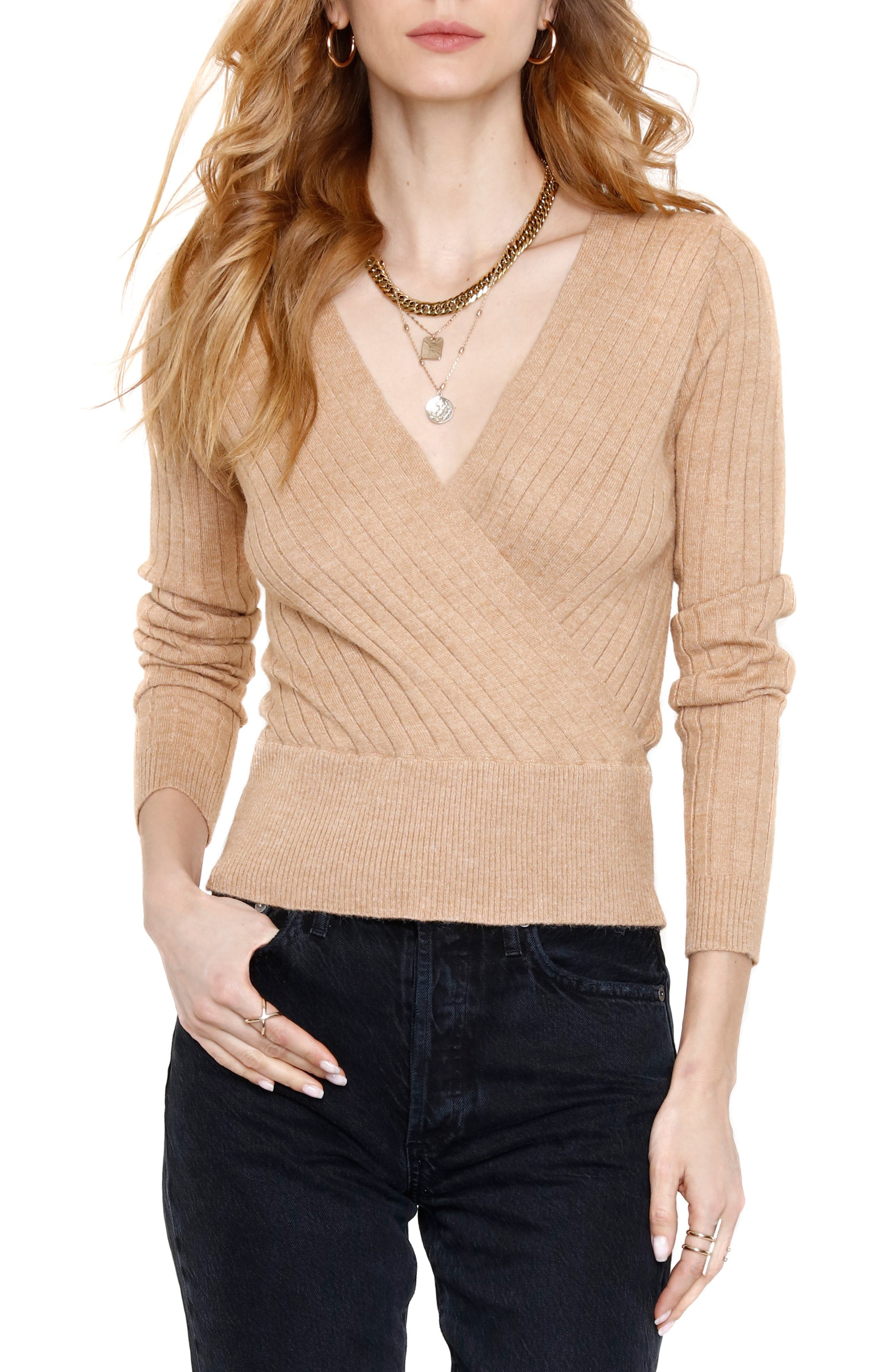 Heartloom JULIEE SURPLICE SWEATER