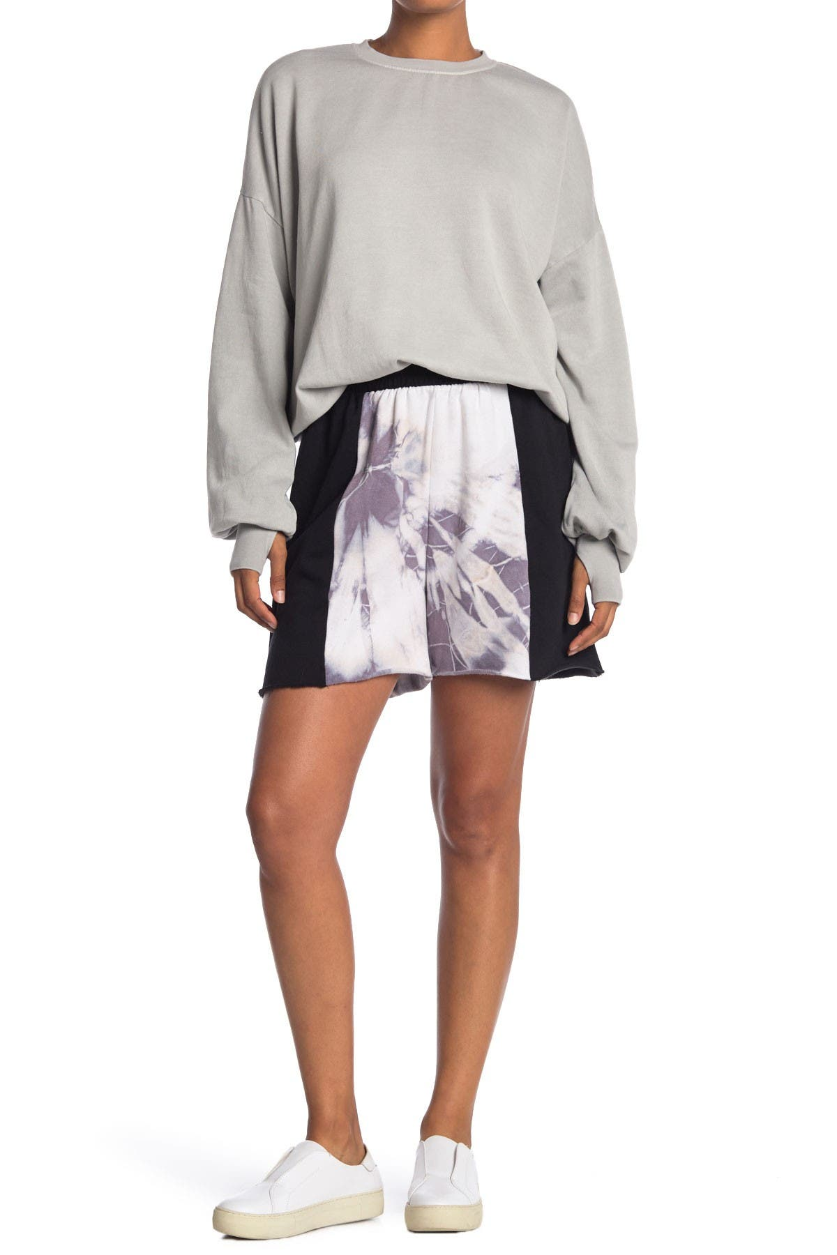 Image of The Laundry Room Tie Dye Bermuda Shorts