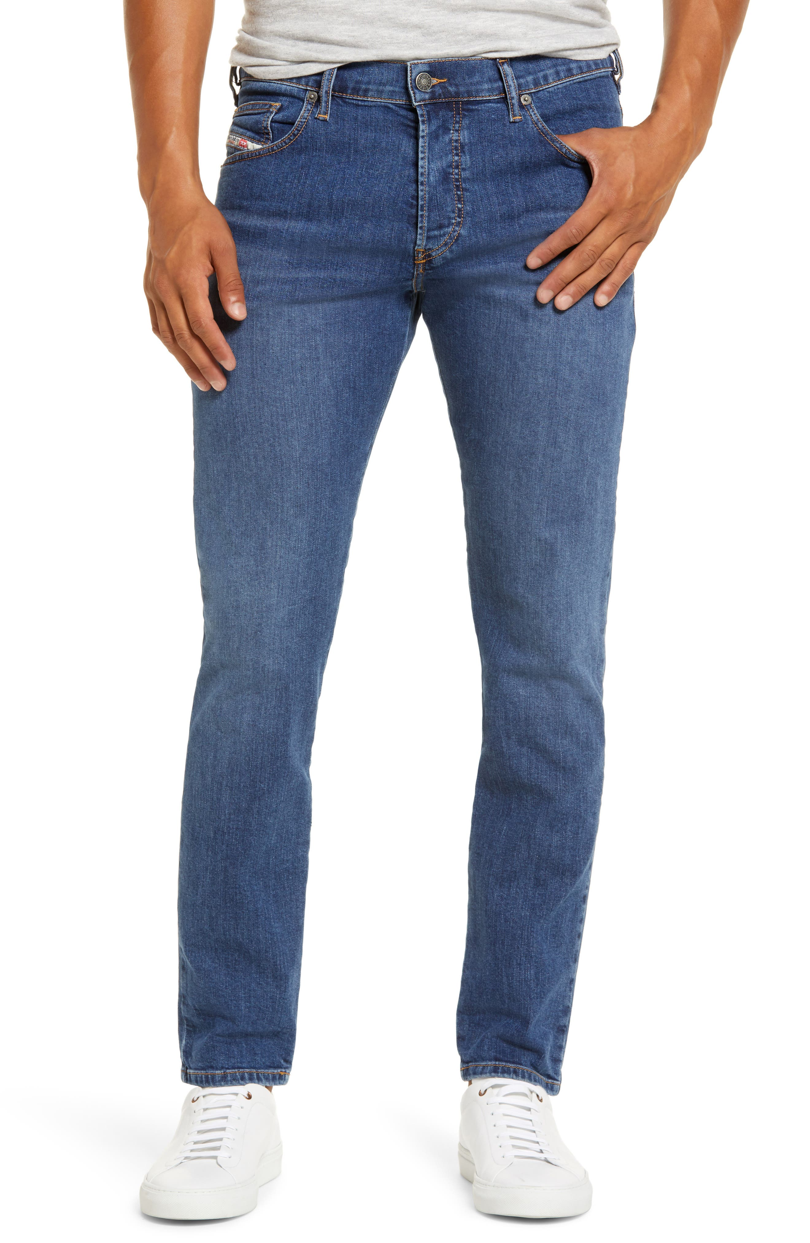 Men's Diesel D-Yennox Slim Fit Stretch Jeans