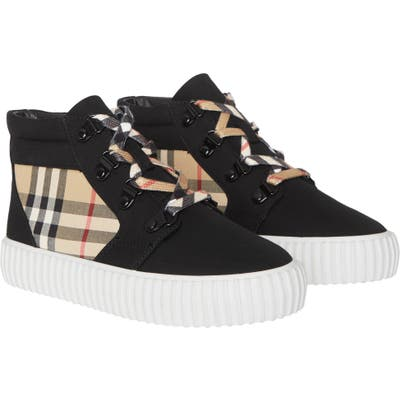 Burberry Emmett High Top Sneaker