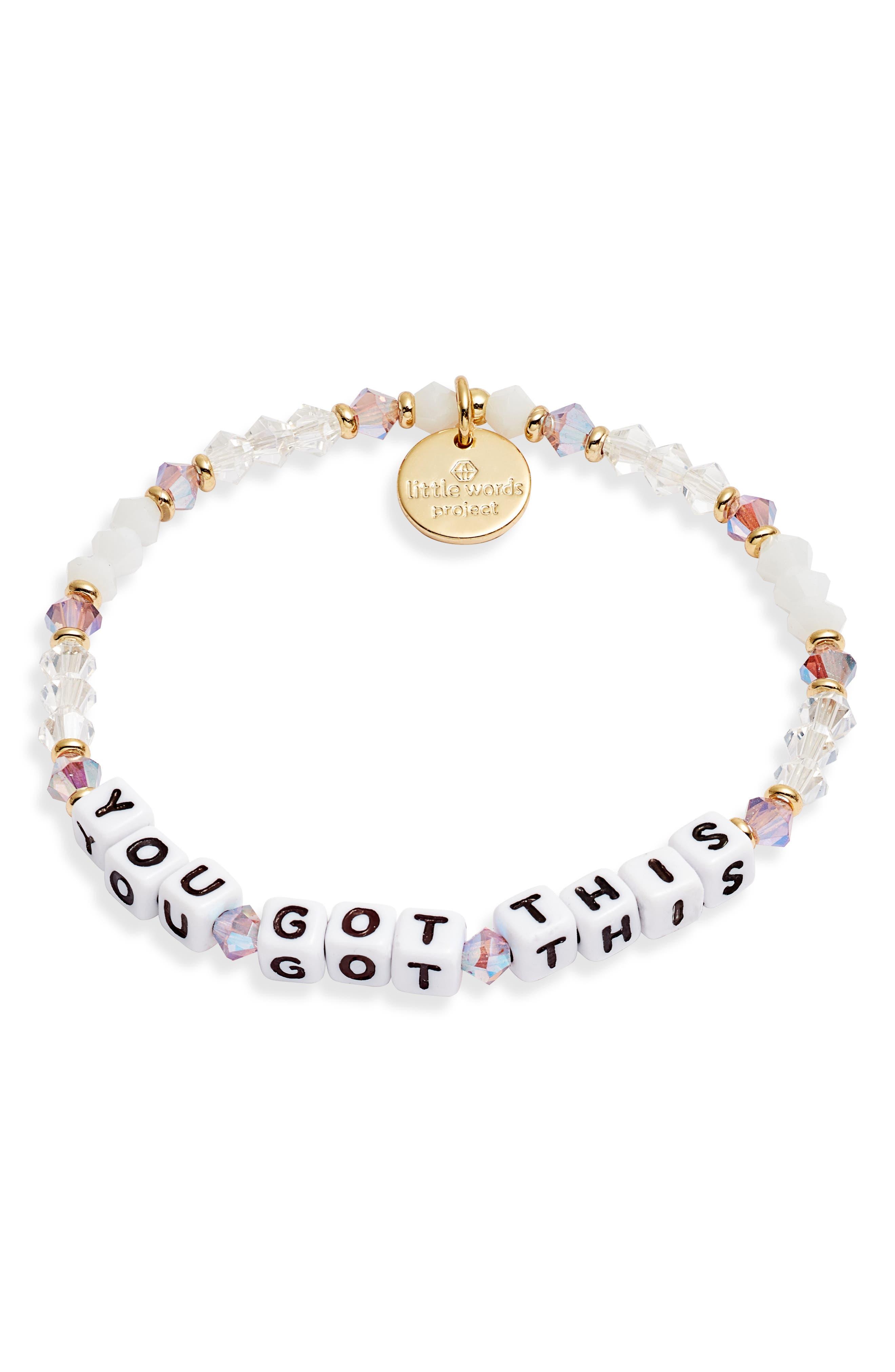 You Got This Stretch Bracelet