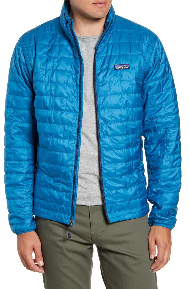 PATAGONIA Nano Puff<sup>®</sup> Water Resistant Jacket, Main, color, BALKAN BLUE