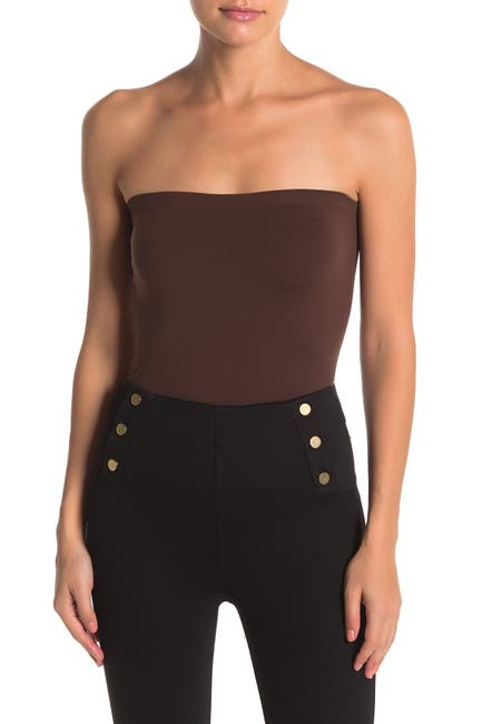 Image of WOLFORD Fatal Strapless Knit Top