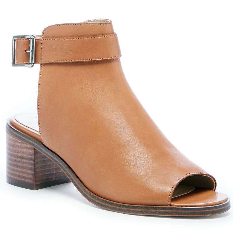 SOLE SOCIETY Tazzara Sandal, Main, color, ACACIA TAN LEATHER