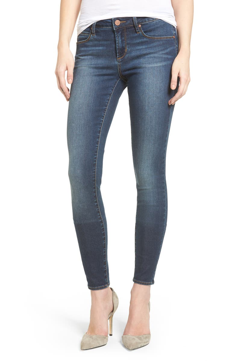 ARTICLES OF SOCIETY Mya Skinny Jeans, Main, color, 400