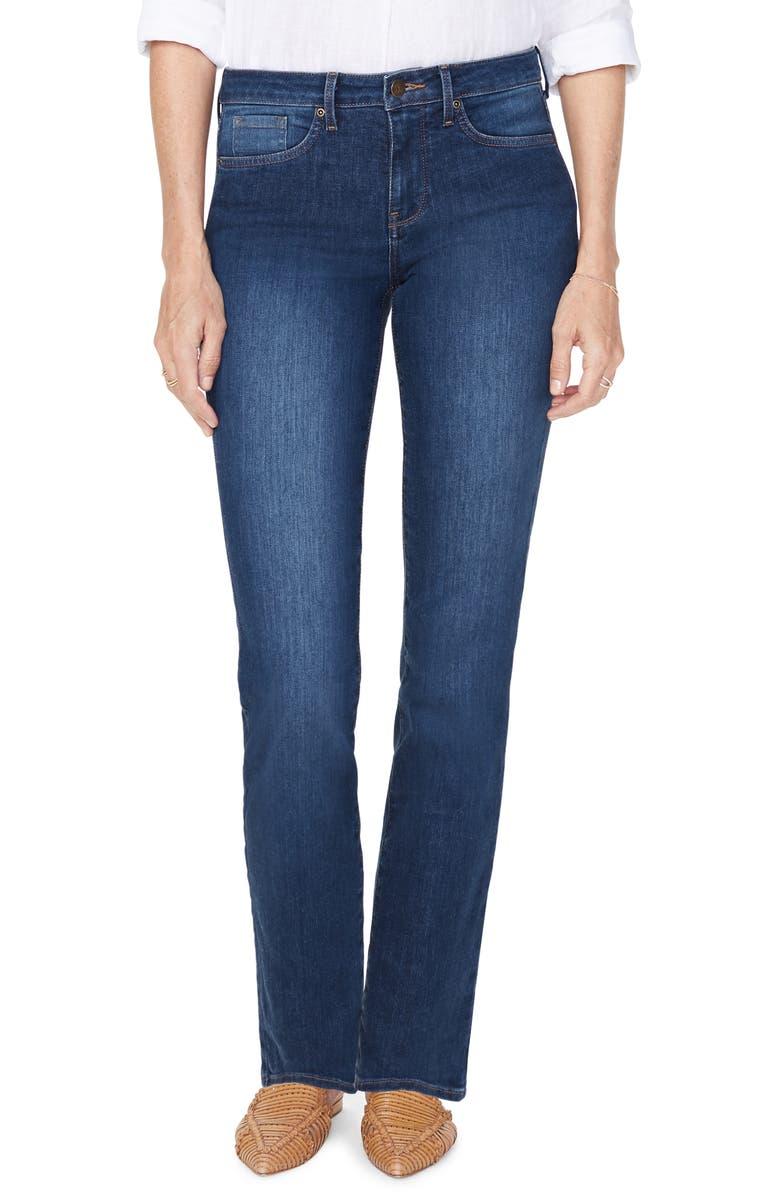 NYDJ Sheri Slim Cut Jeans, Main, color, COOPER