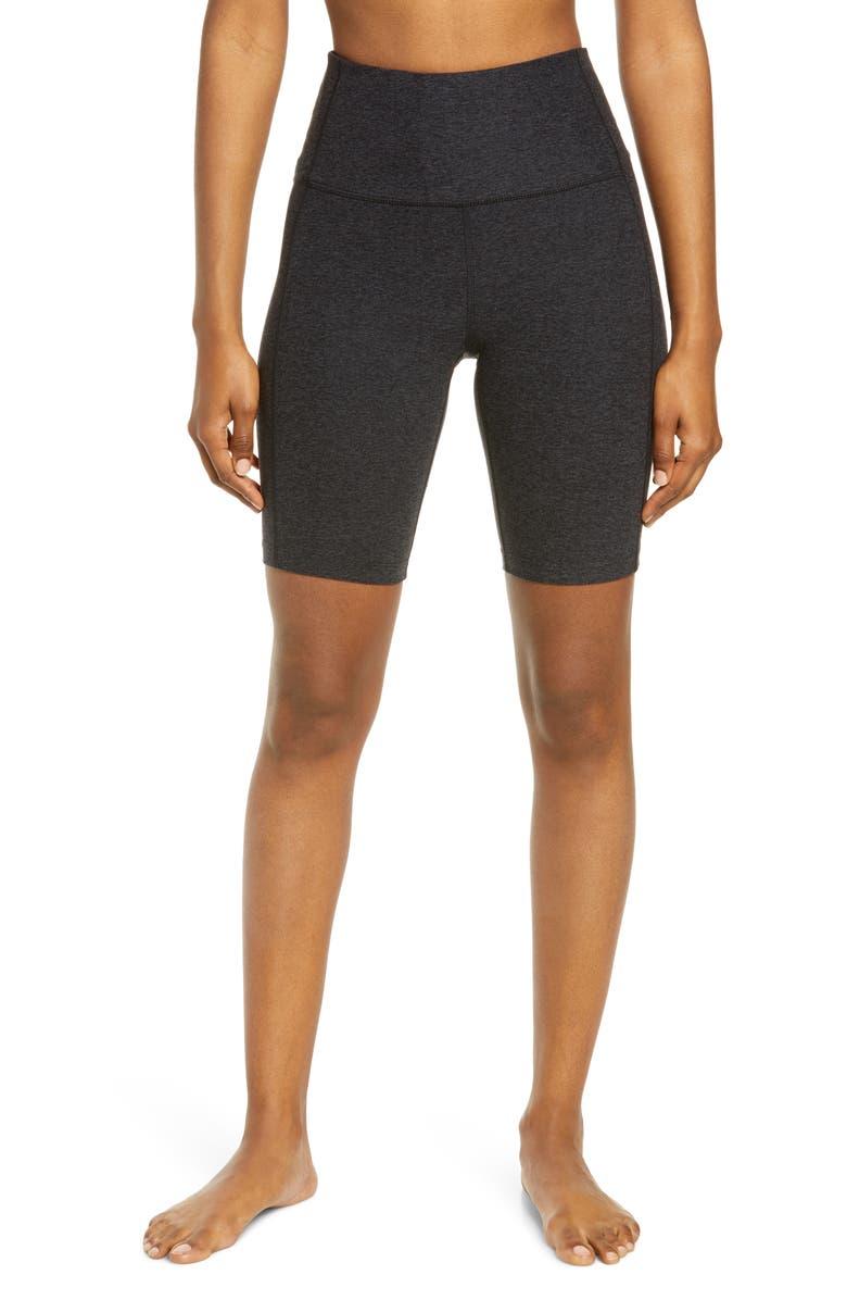 ZELLA Restore Long Bike Shorts, Main, color, 001