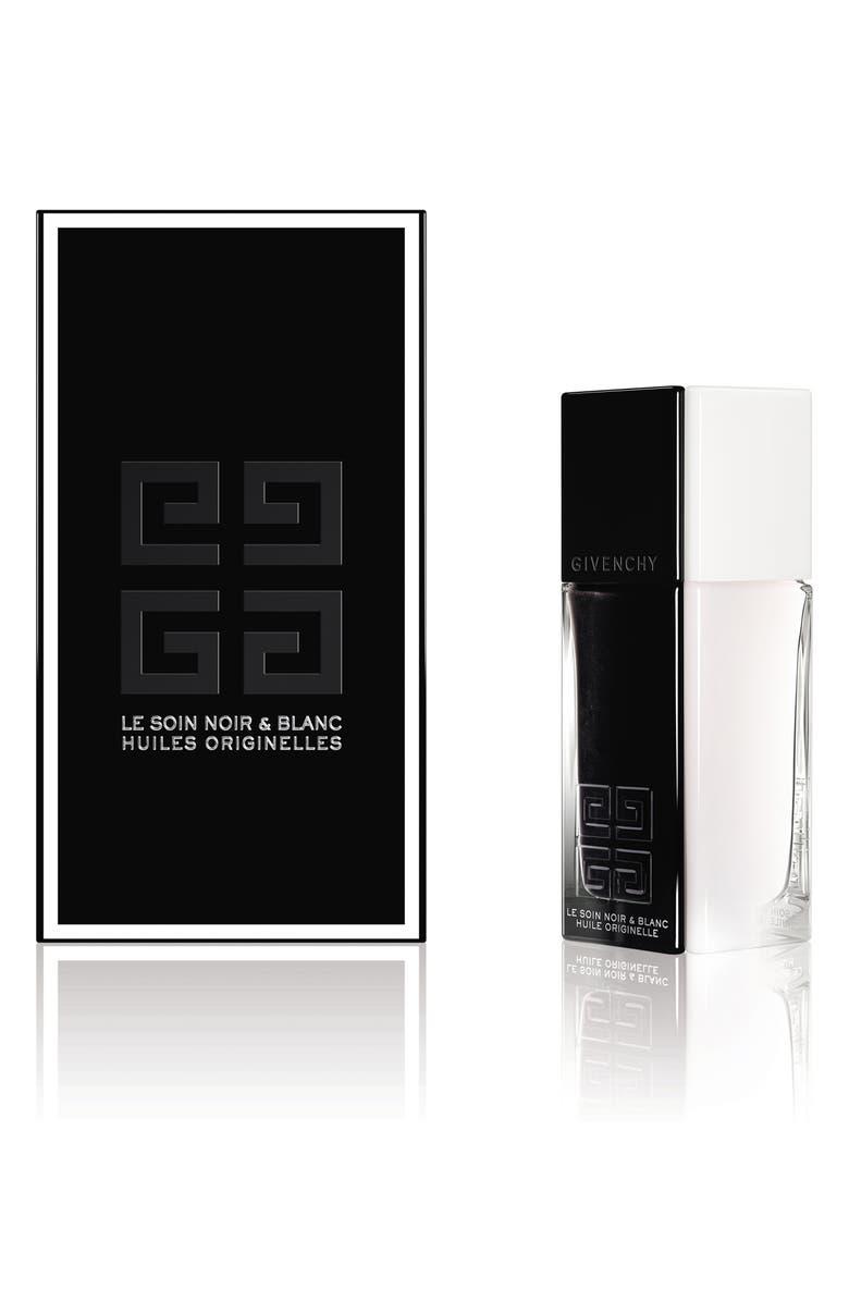 GIVENCHY Le Soin Noir & Blanc Huiles Originelles Face Oil, Main, color, NO COLOR