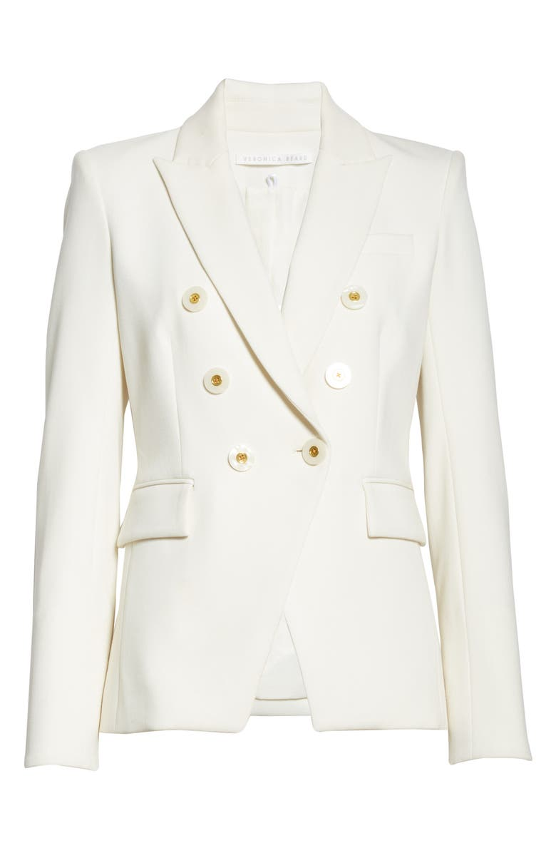 VERONICA BEARD Miller Dickey Jacket, Main, color, WHITE
