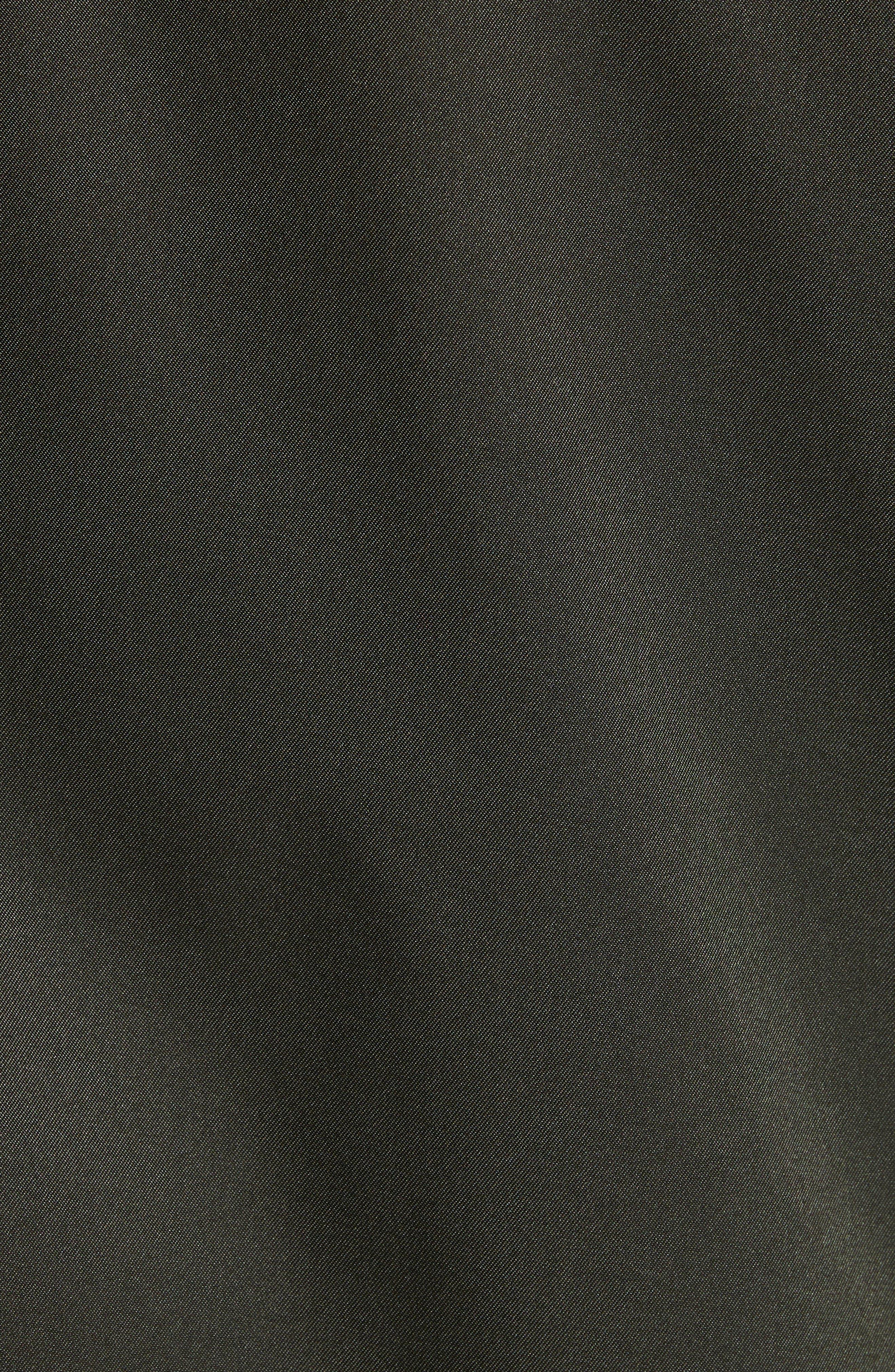 ,                             Claude Slim Fit Bomber Jacket,                             Alternate thumbnail 6, color,                             KHAKI