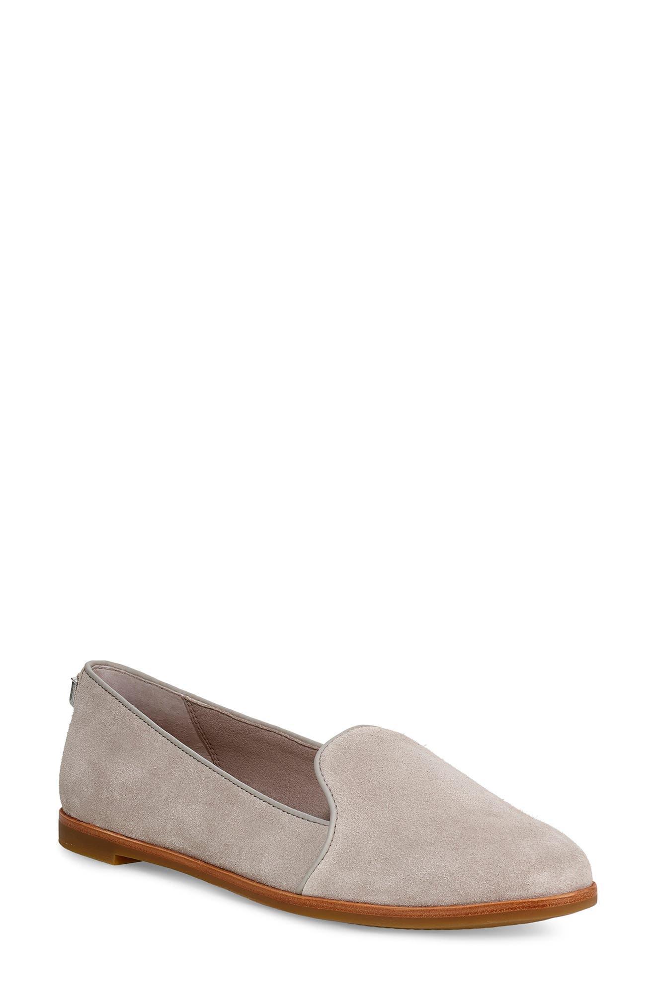 Ugg Bonnie Loafer Flat - Grey