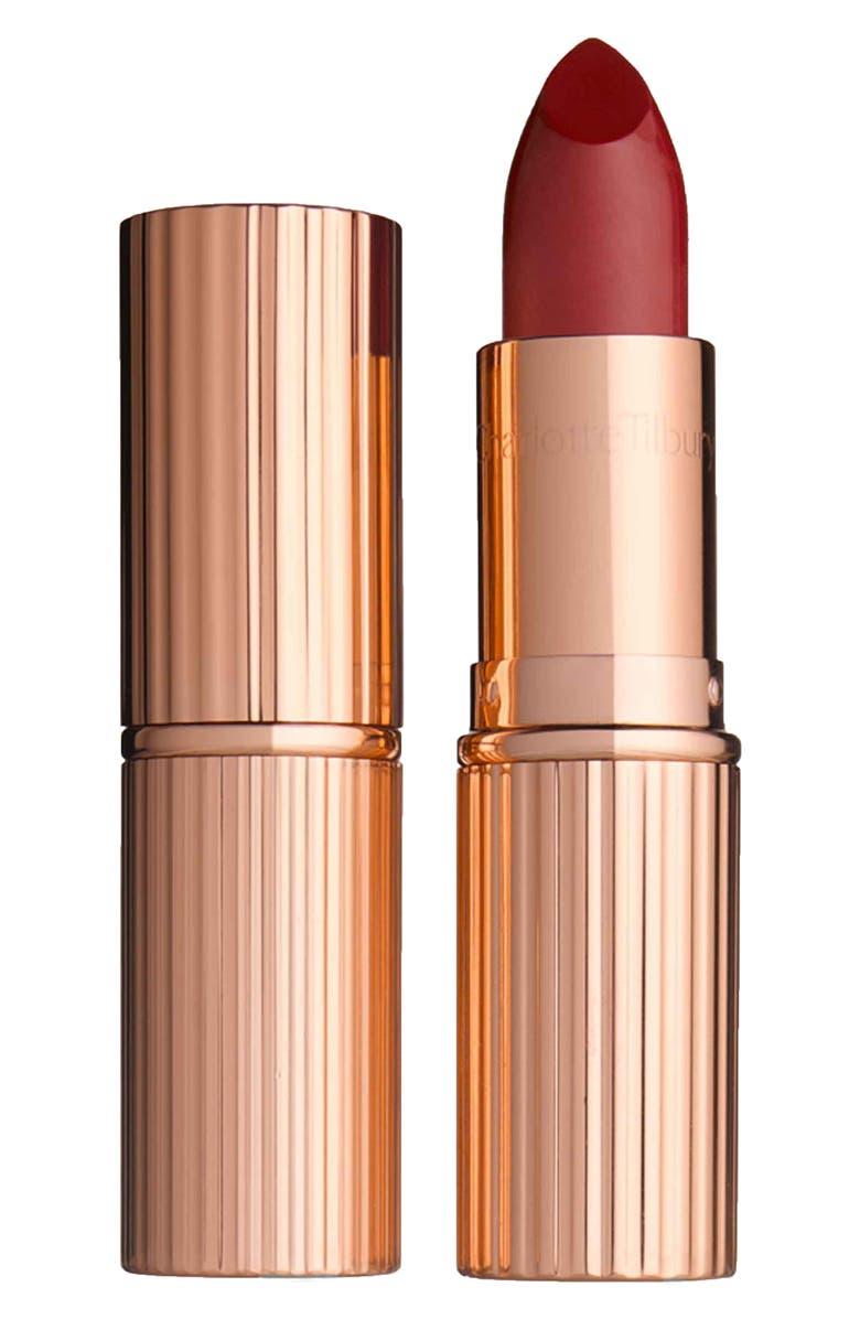 CHARLOTTE TILBURY KI.S.S.I.N.G. Lipstick, Main, color, SO RED