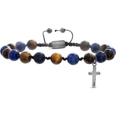 Steve Madden Cross Beaded Bracelet