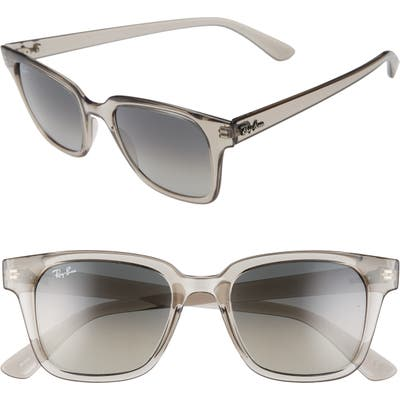 Ray-Ban Wayfarer 51mm Sunglasses - Transparent Grey/gradient