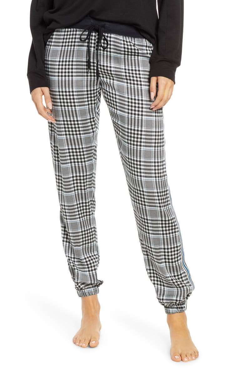 PJ SALVAGE Jewel Night Pants, Main, color, 001